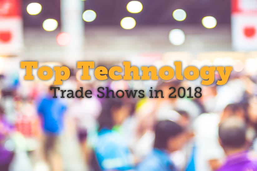 top technology trade shows in 2018